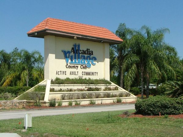 Arcadia Village - 55+ Golf Course Community
