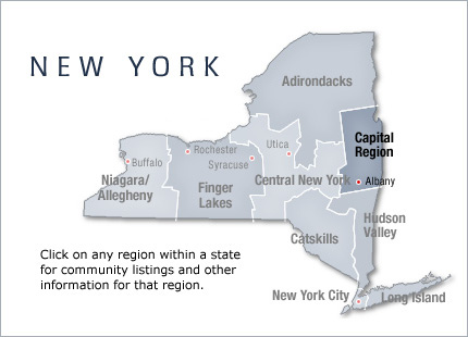 active adult community new state york