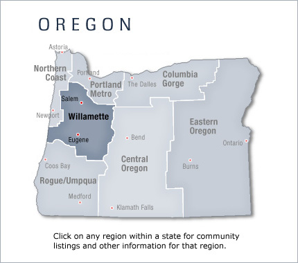 Eugene Oregon New Home Communities