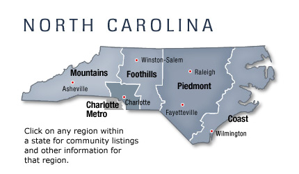 north carolina manufactured and mobile homes communities area info