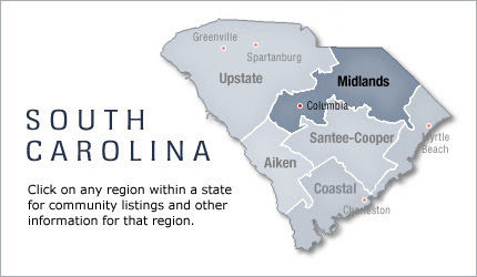 Midlands - South Carolina, Active Retirement Communities and