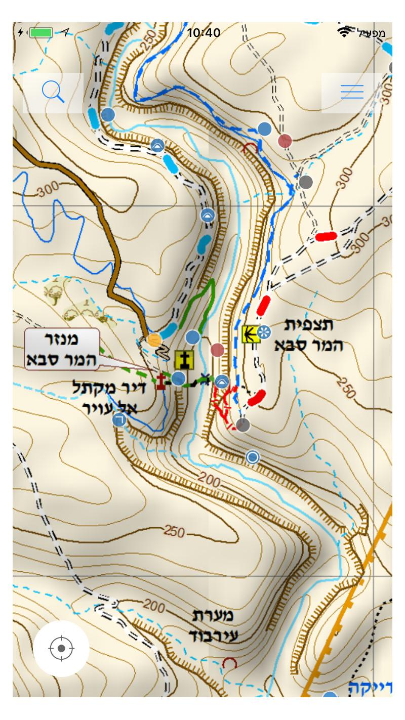 דוגמה למפת שבילנט