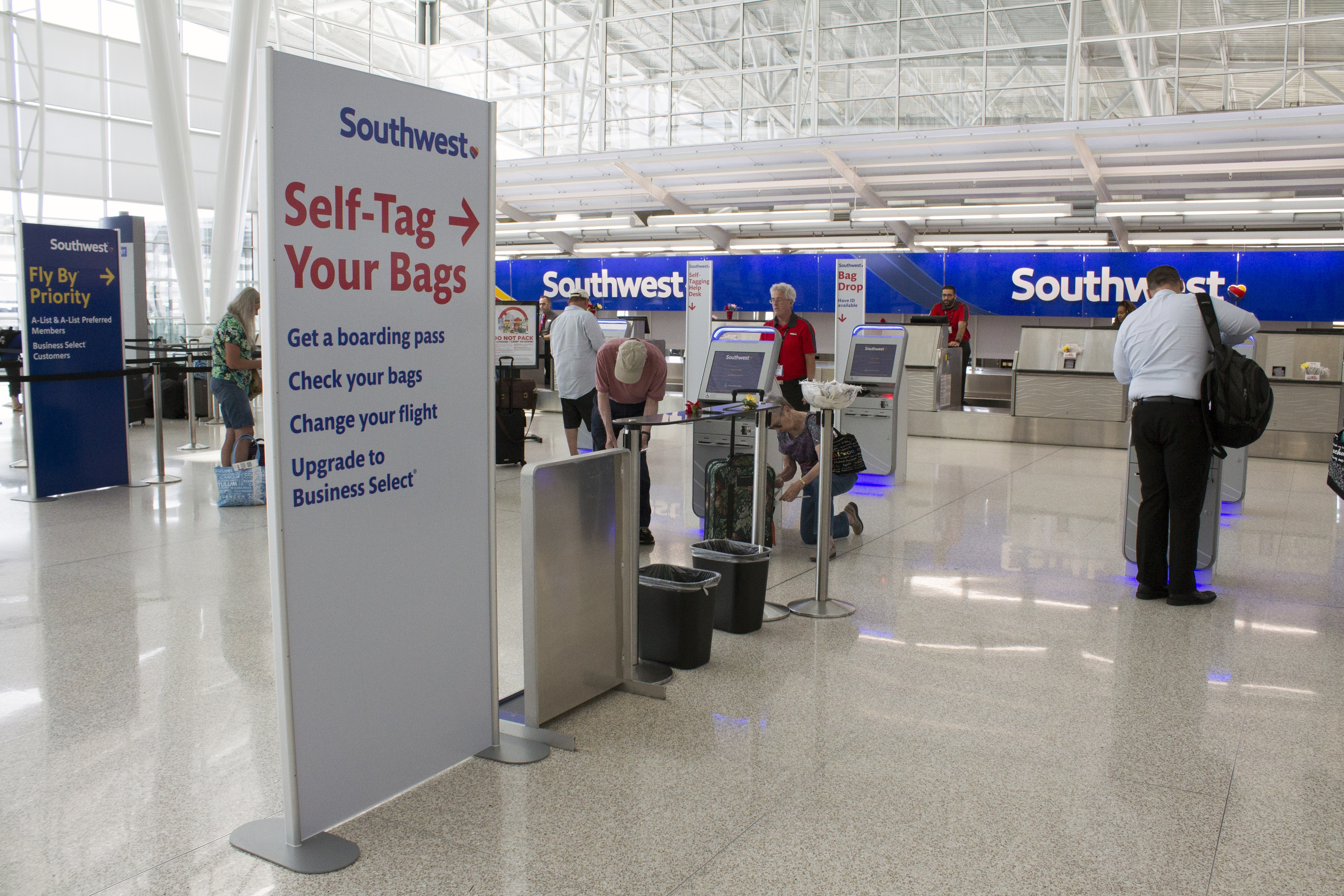 Self Bag Check Available At Indy Indianapolis Airport Authority
