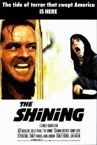 The Shining poster Stanley Kubrick