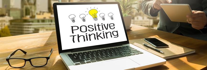 pensamento positivo na carreira