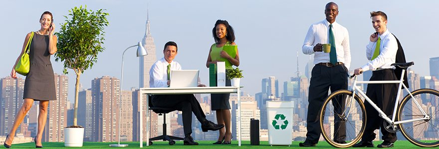 As empresas e o olhar sustentável