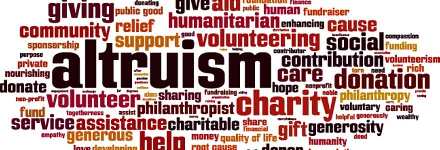 Altruísmo: gerando benefícios para você e para o mundo