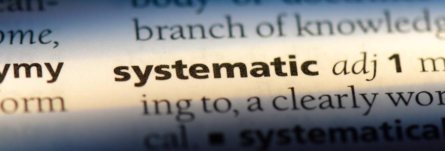 Características de pessoas sistemáticas