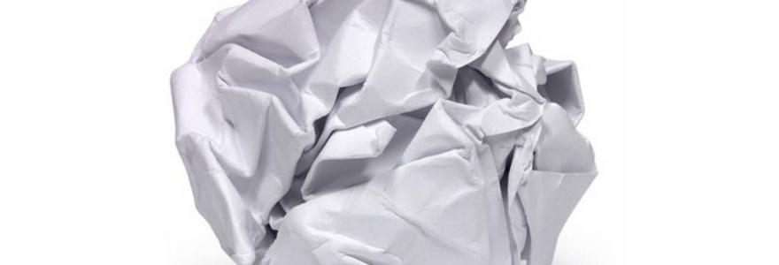 Dinâmica do papel amassado – Criando uma mentalidade coletiva positiva