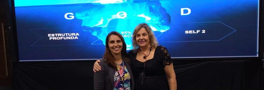 Vera Lúcia e participante no PSC