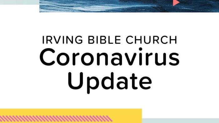 Coronavirus Update Facebook Sermon Image 600X584