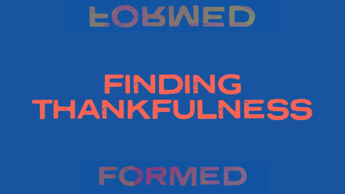 Finding Thankfulness Blog Cover