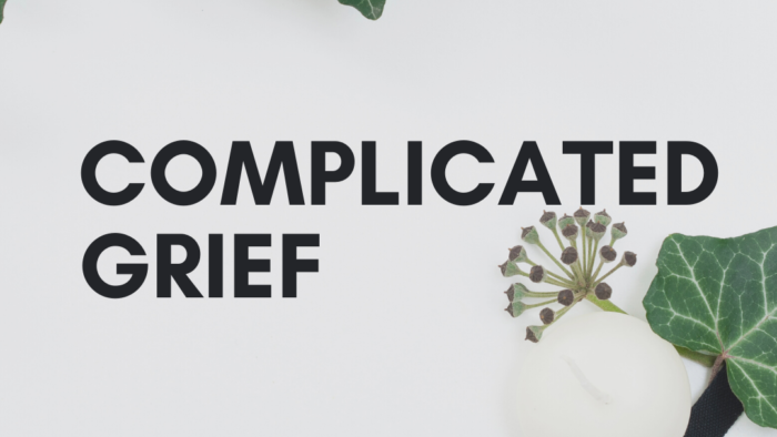 Complicated grief teaser