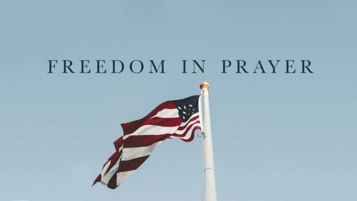 Freedom In Prayer 700X394