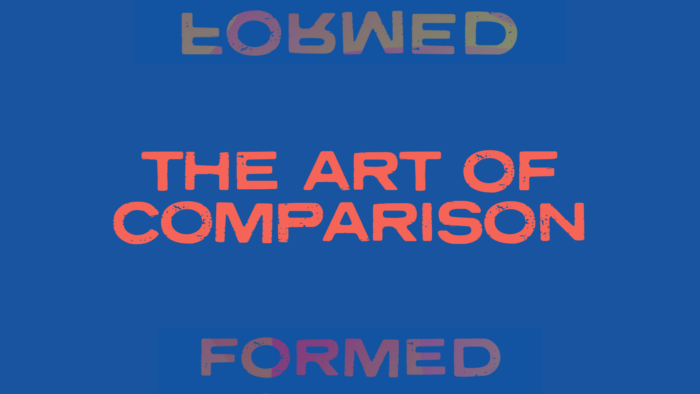 The art of comparison blog cover