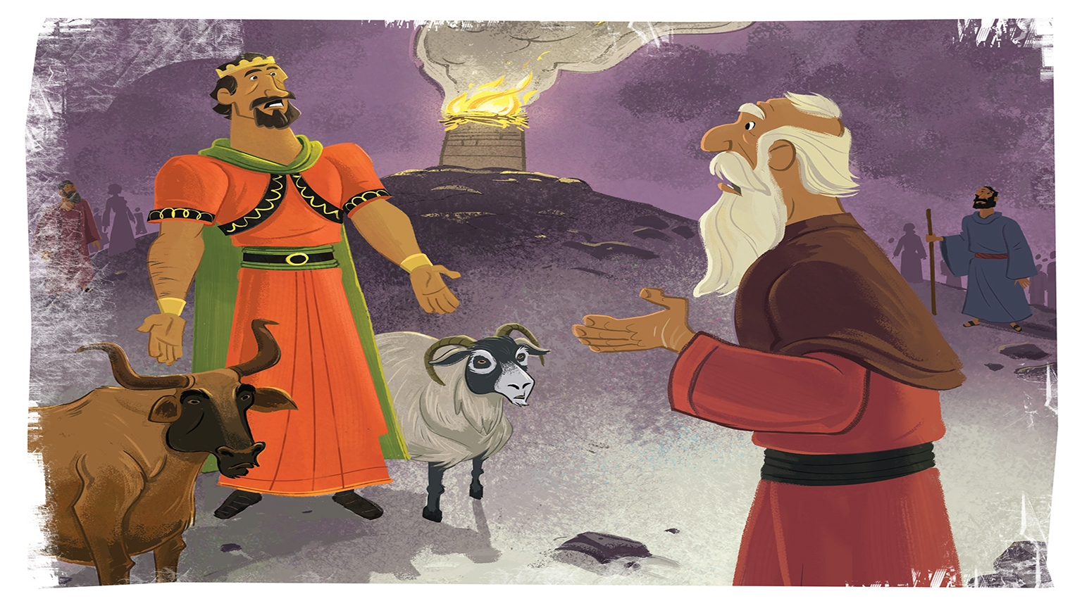 10 3 Bible Story Pictures