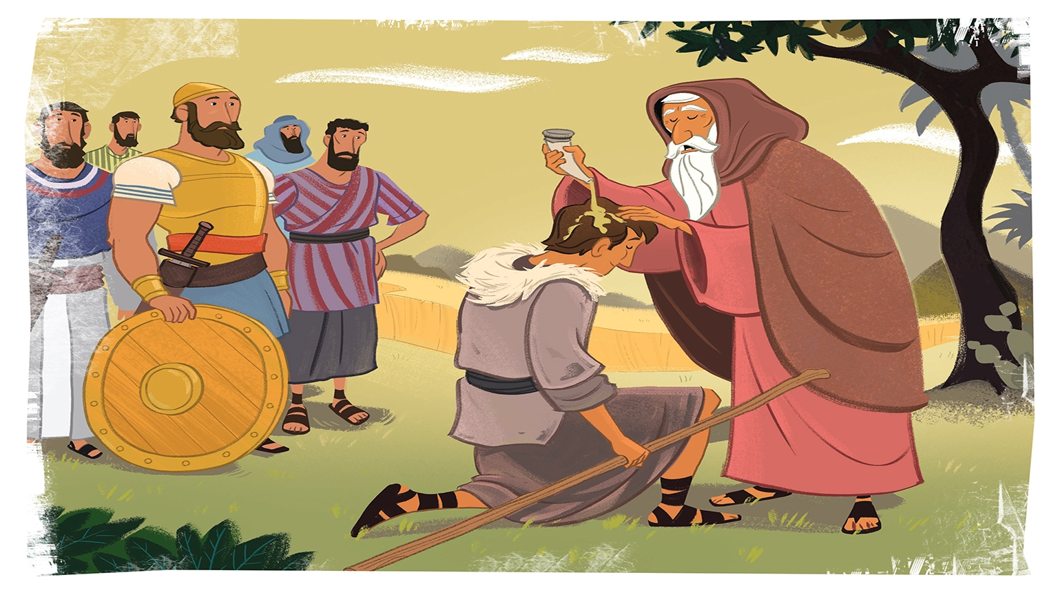 11 1 Bible Story Picture
