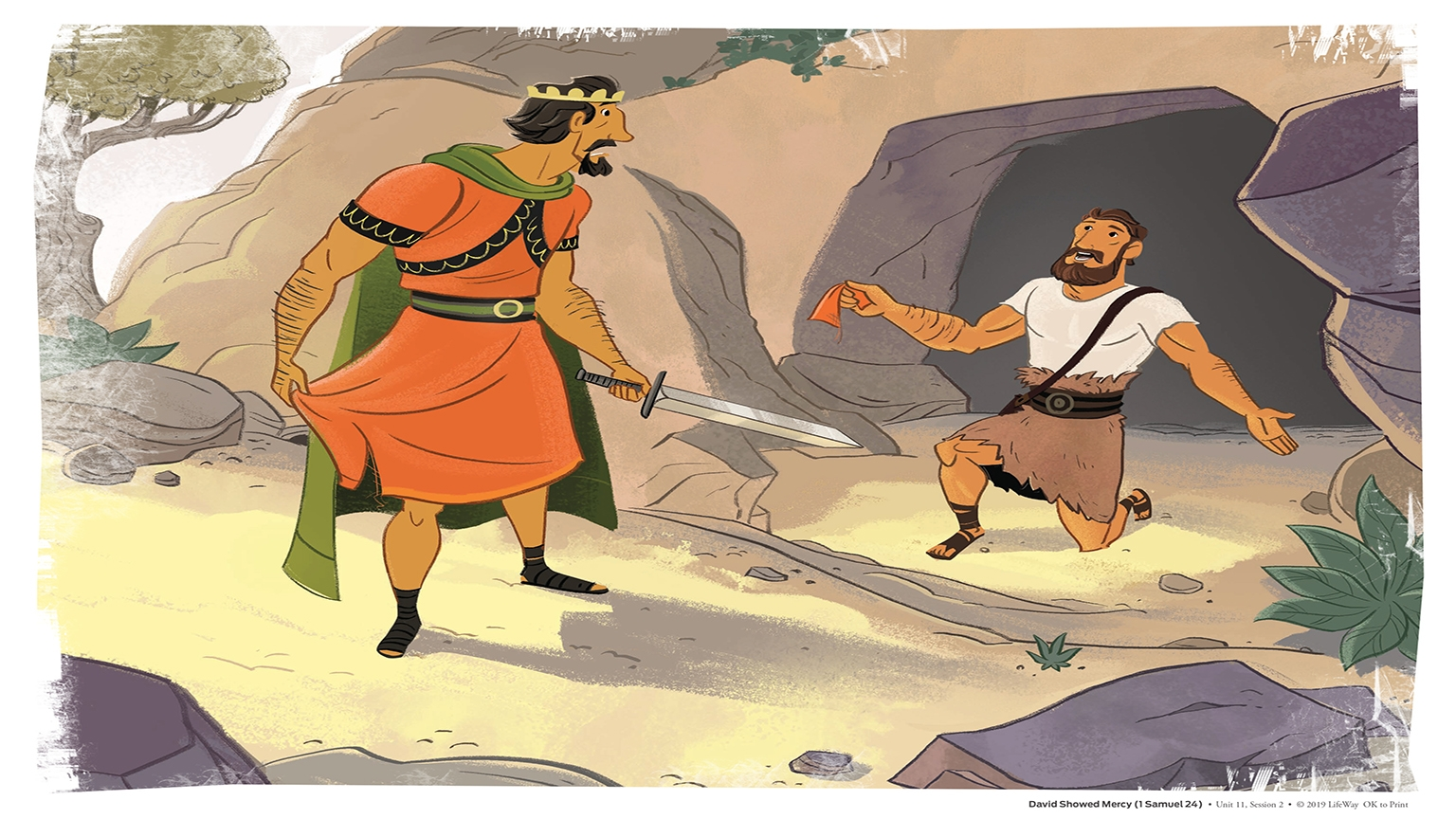 11 2 Bible Story Picture
