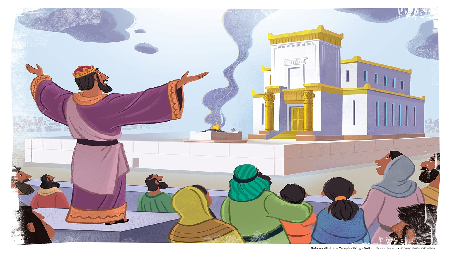 12 3 Bible Story Picture