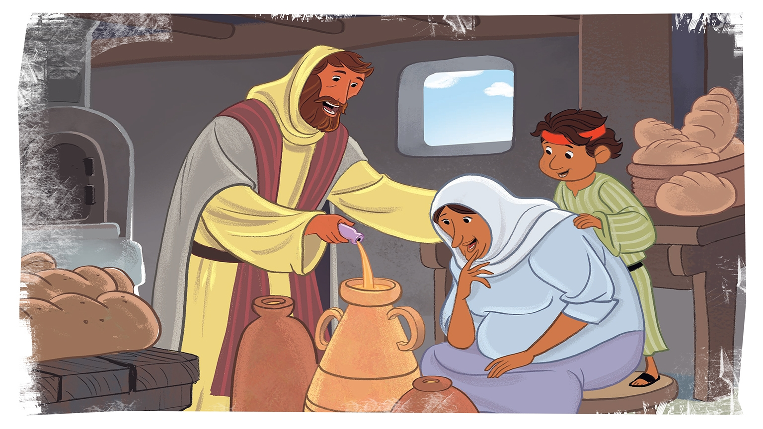 13 1 Bible Story Picture