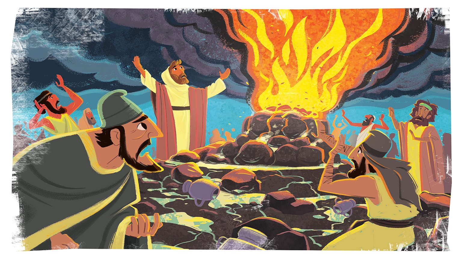 13 2 Bible Story Picture