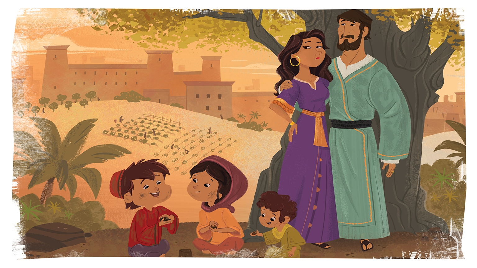 14 2 Bible Story Picture