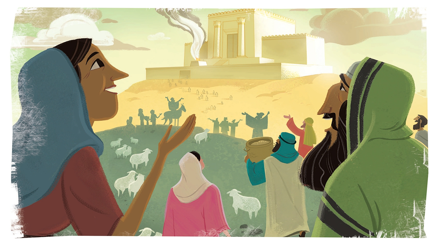 17 3 Bible Story Picture