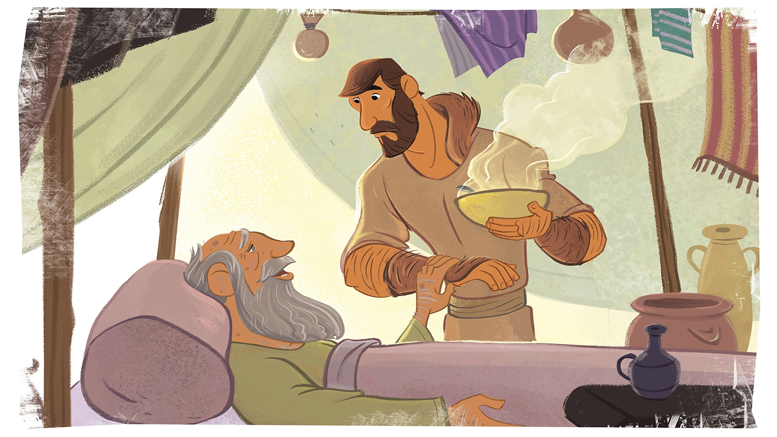 3 1 Bible Story Picture