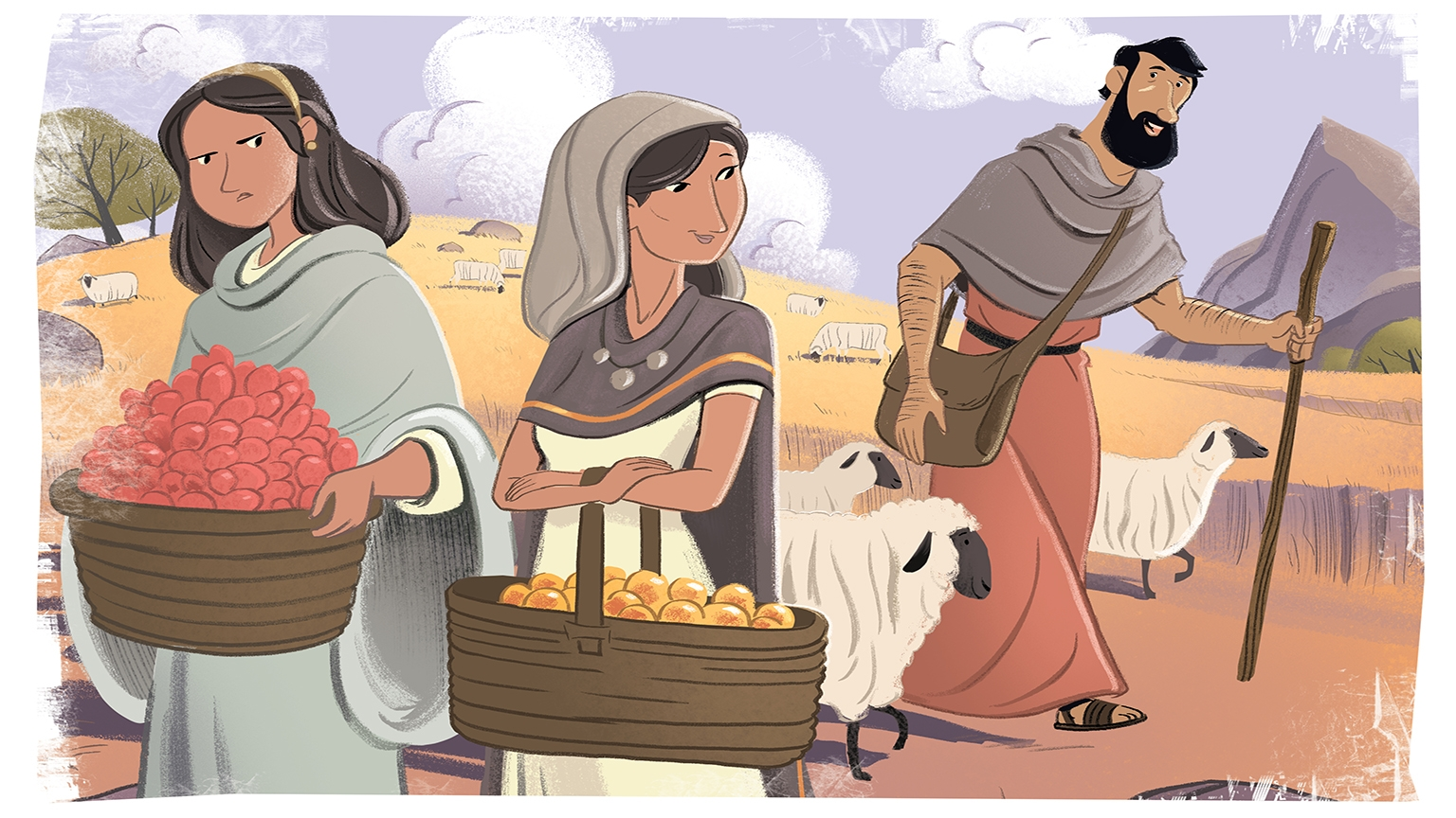 3 2 Bible Story Picture