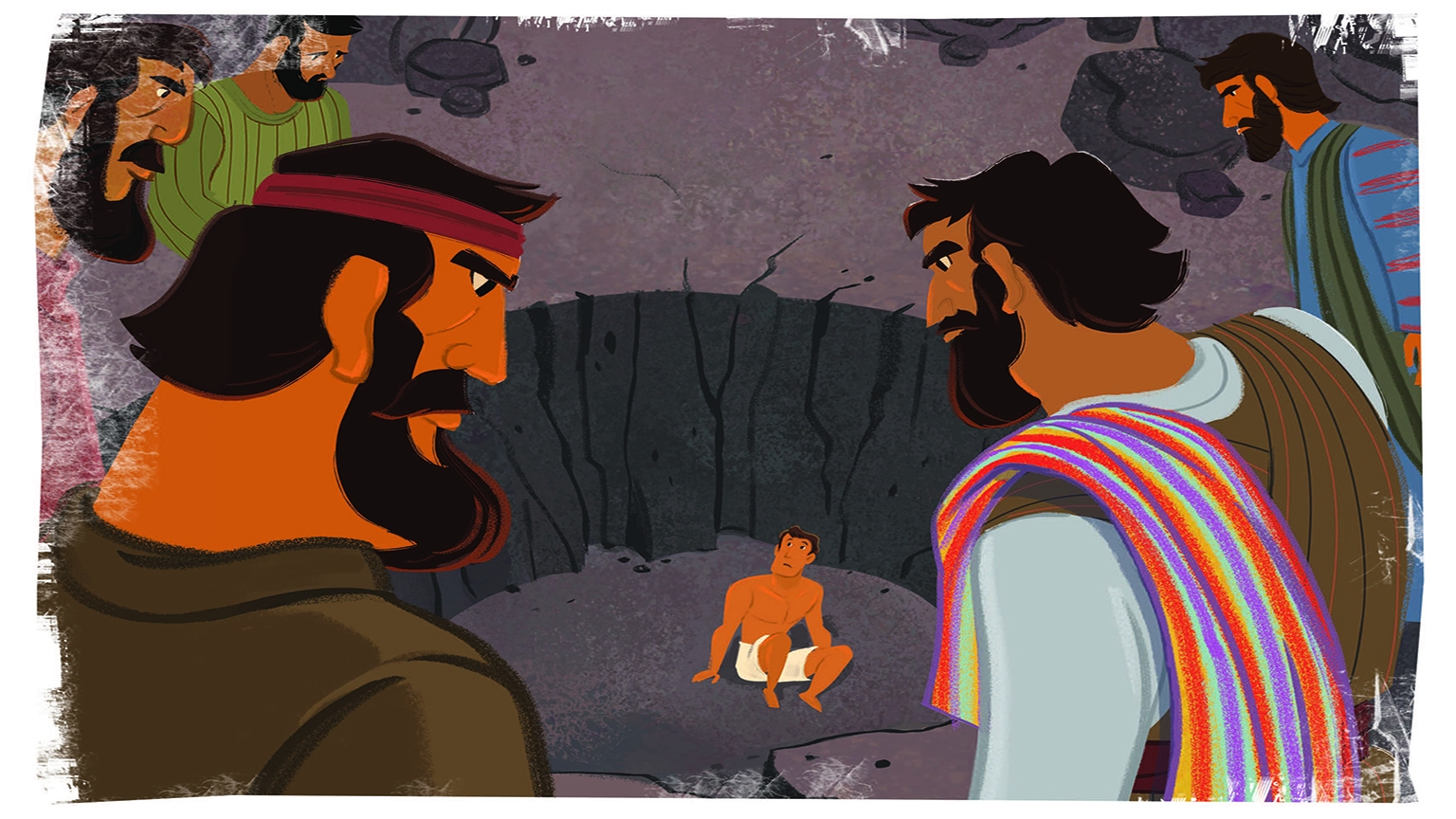4 1 Bible Story Picture