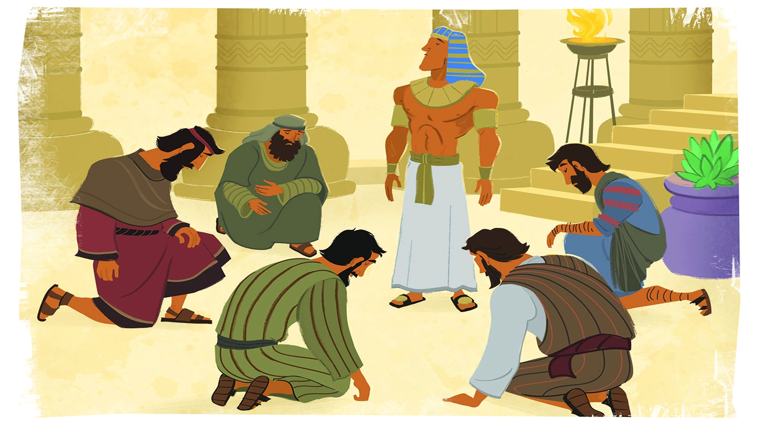 4 3 Bible Story Picture