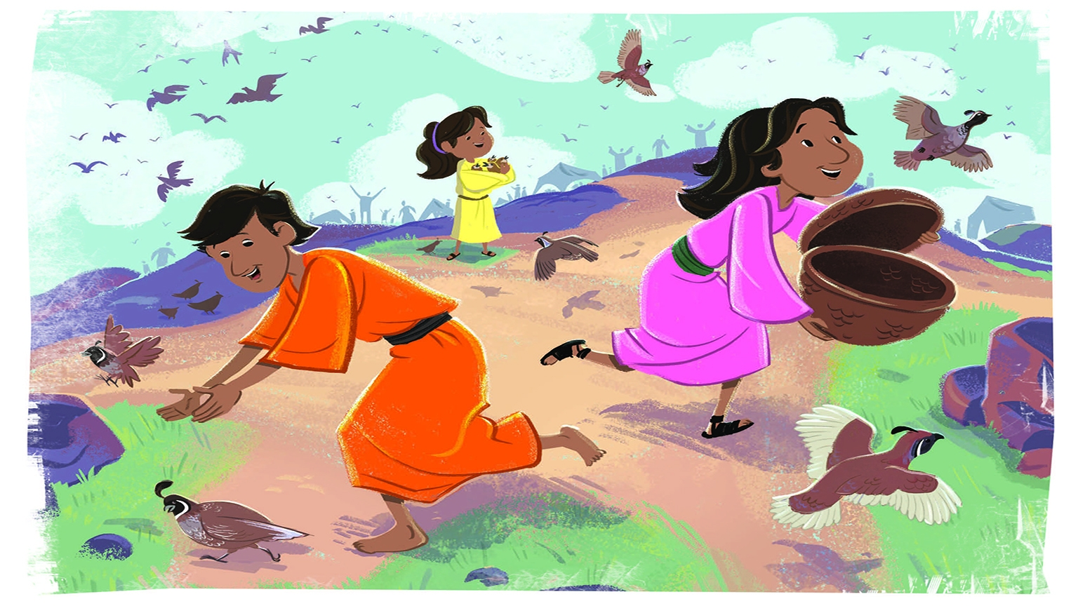 5 1 Bible Story Picture
