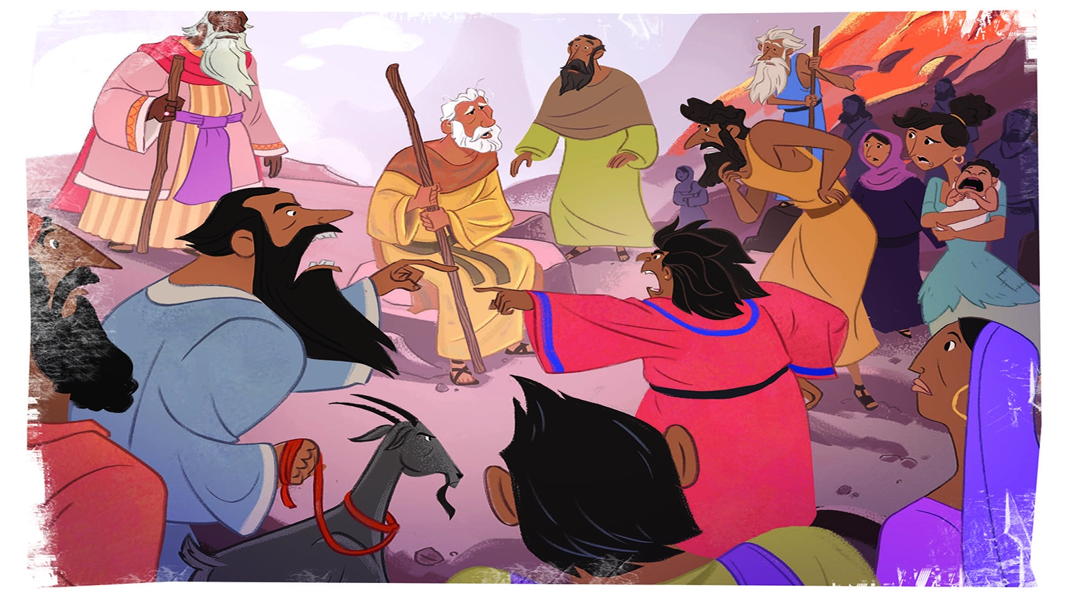 5 2 Bible Story Picture