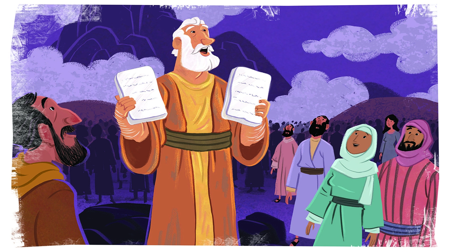 5 3 Bible Story Picture