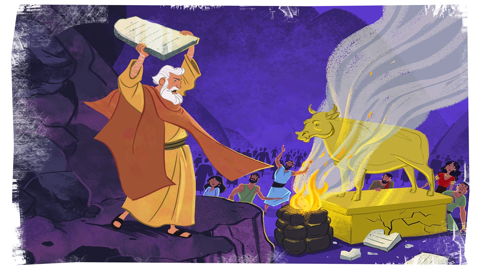 6 1 Bible Story Picture