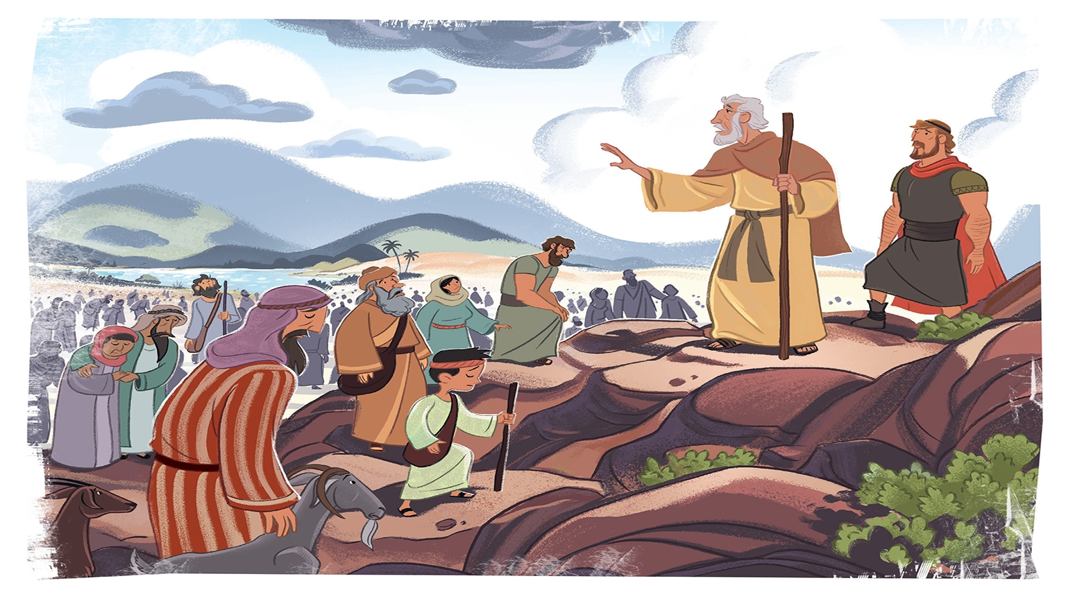 7 4 Bible Story Picture