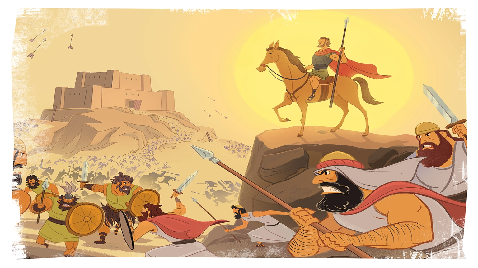 8 3 Bible Story Picture