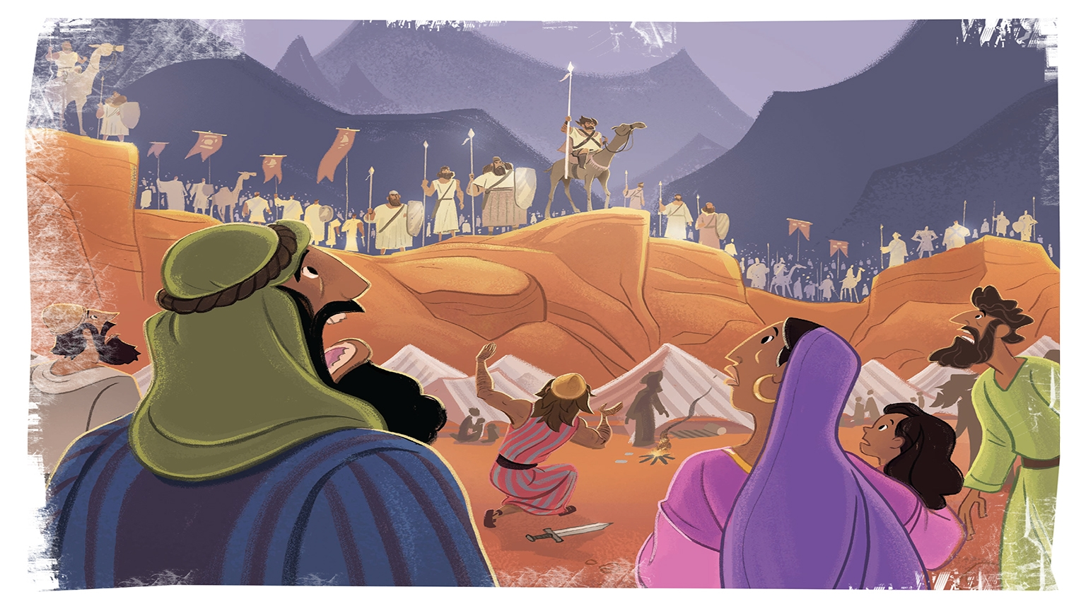 9 1 Bible Story Picture