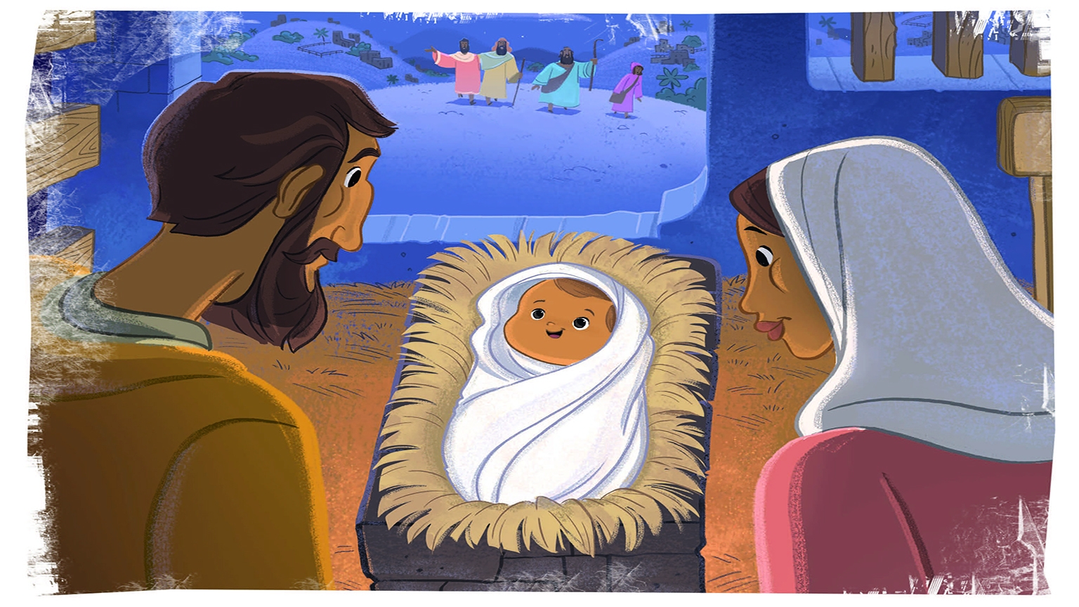 Christmas Bible Story Picture
