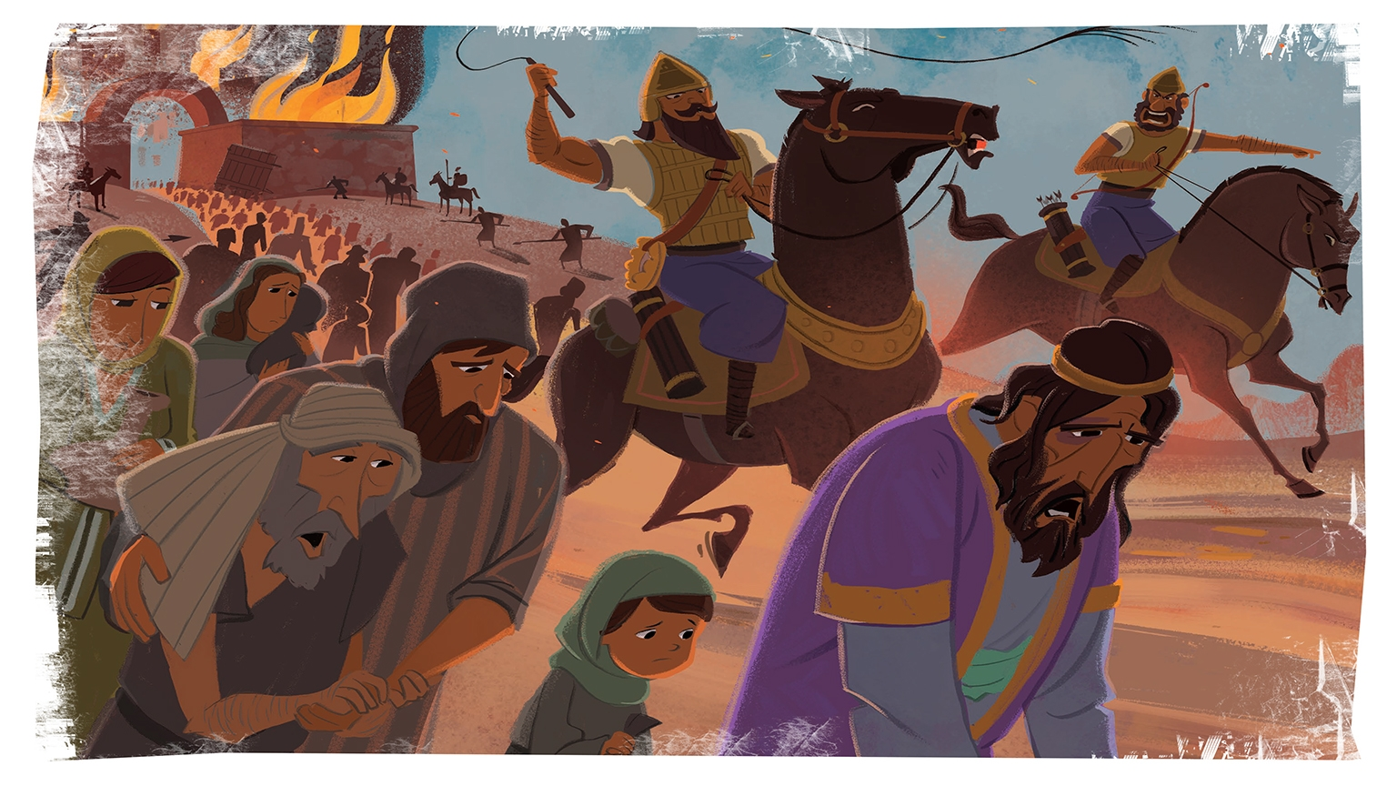 Judah Taken Captive