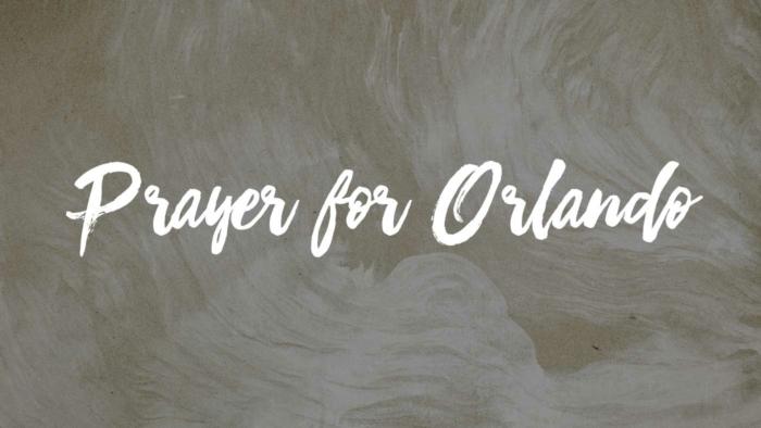 Prayer For Orlando 700X394