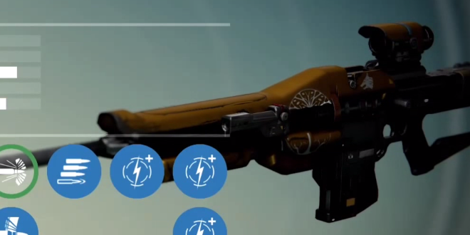 Sharpshooter s weapon forged in fire by the lords of the iron banner