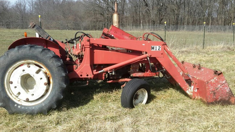 Ih 2424 Tractor Loader : Ibid international tractor with loader