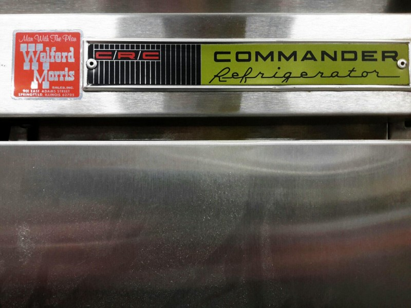 Ibid Lot 3475 Crc Commander Refrigerator