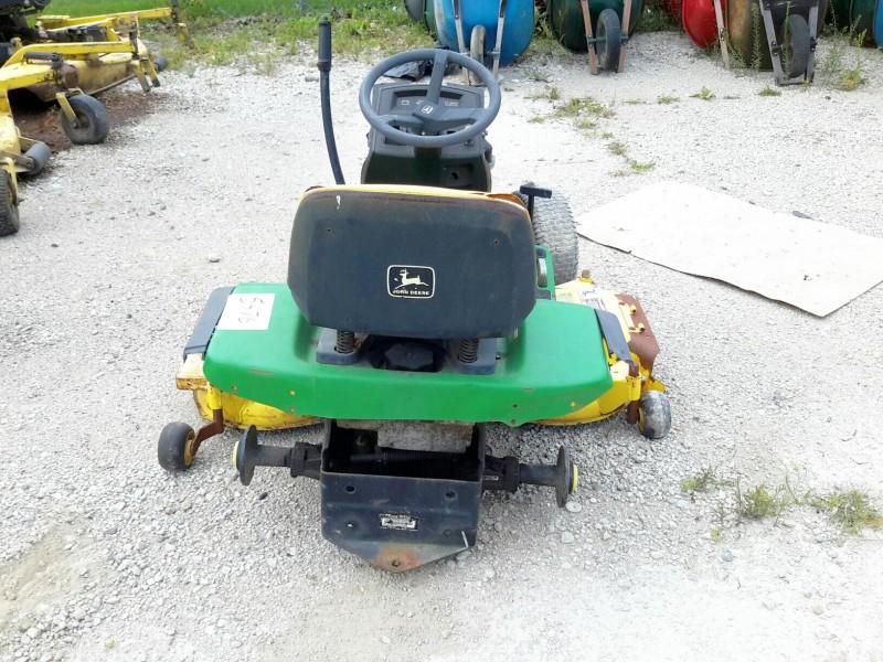 Ibid Lot 5476 John Deere Lawn Mower Model Gt275 W 48