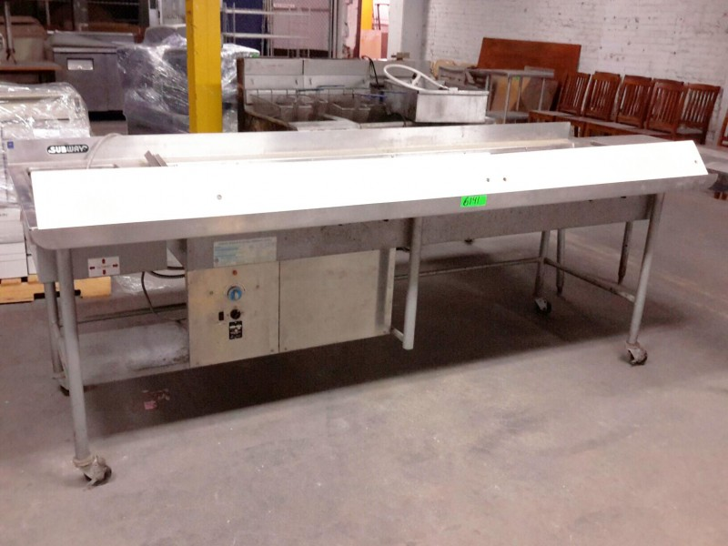 Ibid Lot 6141 Stainless Steel Refrigerated Sandwich
