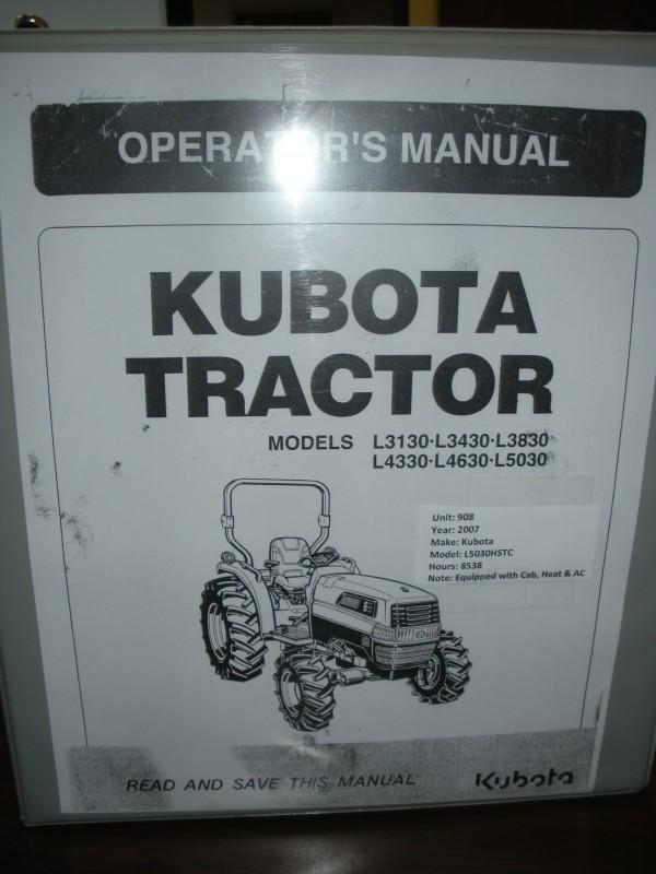 iBid 4WD Kubota Diesel Tractor w/cab & AC, 8535 hrs