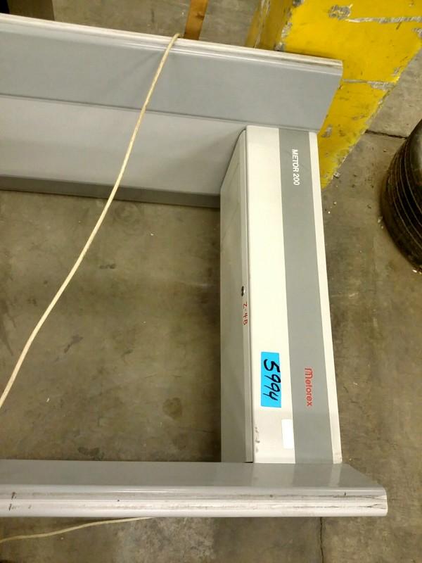 IBid Lot 5994 Metorex Metor 200 Walk Through Metal Detector