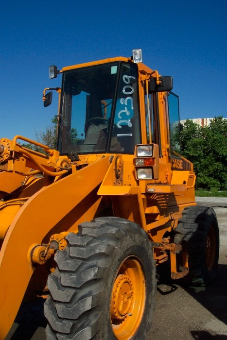 Garage Sales Joliet Il: IBid 1991 CASE 621-WHEEL LOADER