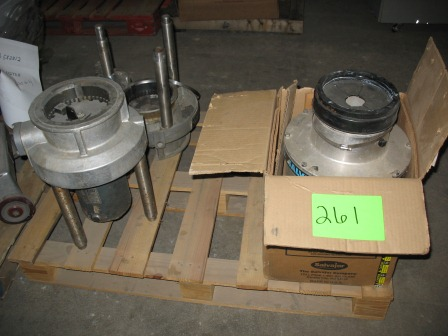 Ibid Pallet Of Miscellaneous Commercial Garbage Disposals